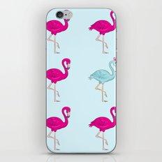 flamingo king iPhone & iPod Skin