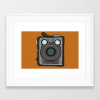 Brownie Framed Art Print