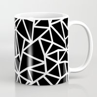 Abstract Outline Thick W… Mug