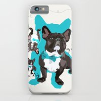 Chauncey Loves You - French Bulldog iPhone 6 Slim Case