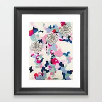 FLWR Framed Art Print