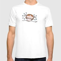 Pool XL Mens Fitted Tee White SMALL