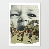 Young Hunger. Canvas Print