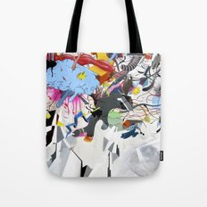I blame the radio waves Tote Bag