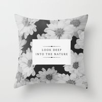 The Nature Throw Pillow