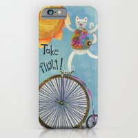iPhone & iPod Case featuring Take Flight With The Sun On Your Face by Jennifer Lambein