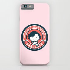 Sherlock - Cute Sherlock Holmes in Red Slim Case iPhone 6s