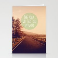 This Road Will Take You … Stationery Cards