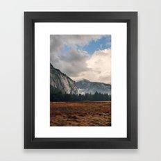 Ahwahnee Meadows Framed Art Print