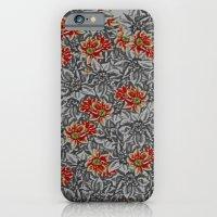 Floral Grey iPhone 6 Slim Case