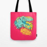 Jurassick Puke Tote Bag