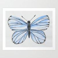 Spring Azure Art Print