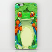Frankie the Frog iPhone & iPod Skin