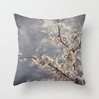 Spring _ liscious Throw Pillow