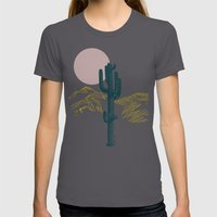 Hace Calor? Womens Fitted Tee Asphalt SMALL
