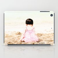Baby at Beach iPad Case