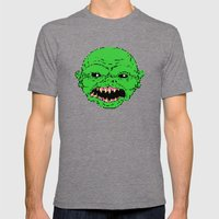 16 bit ghoulie Mens Fitted Tee Tri-Grey SMALL