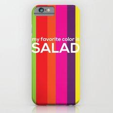 My favorite color is salad Slim Case iPhone 6s