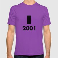 2001: A Minimalist Space Odyssey Mens Fitted Tee Ultraviolet SMALL