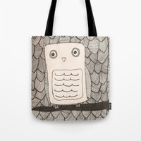Jeffery the Owl Tote Bag