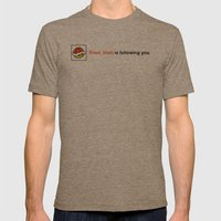 @red_shell is following you. Mens Fitted Tee Tri-Coffee SMALL