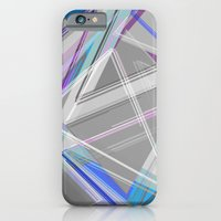 iPhone & iPod Case featuring ∆Blue by AJJ ▲ Angela Jane Johnston