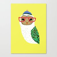 I Love Owls Canvas Print