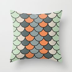 Planted Color Throw Pillow