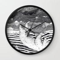AWAKE & DREAMING Wall Clock