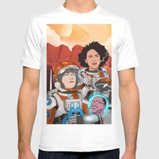 Broad City Mens Fitted Tee White SMALL
