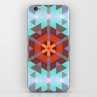 Geo Metrics 3 iPhone & iPod Skin