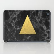 Black Gold Marble Tri - … iPad Case
