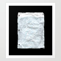 UNKNOWN PAPER Art Print
