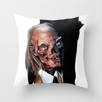 Crypt Keeper: Monster Ma… Throw Pillow
