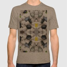 Pebble Wash Rock River N… Mens Fitted Tee Tri-Coffee SMALL