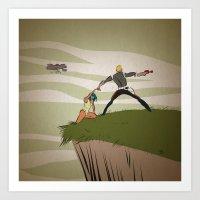 A Daring Escape Art Print