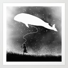 Going for a Ride Art Print