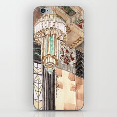 inside the Art Deco spaceship iPhone & iPod Skin
