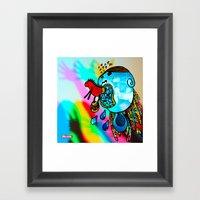 Te Voy A Comer // I Will… Framed Art Print