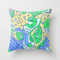 Silence And Sound Throw Pillow