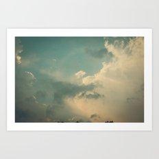 Vintage Sky Art Print
