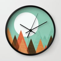 From The Edge Of The Mou… Wall Clock