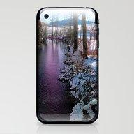 Quiet River In Winter Ti… iPhone & iPod Skin