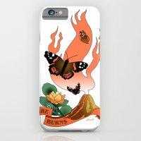 Fire Burns iPhone 6 Slim Case