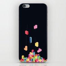 Tetrisometric iPhone & iPod Skin