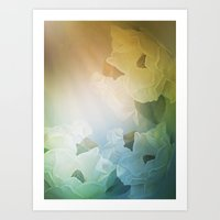 Dogwood Blooms Art Print