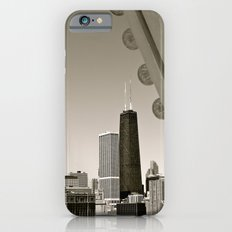 Stark Chicago in Black & White iPhone 6 Slim Case