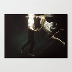 abyss of the disheartened VII Canvas Print