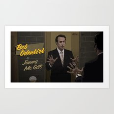 Jimmy McGill Art Print