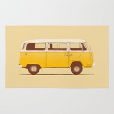 Yellow Van Rug